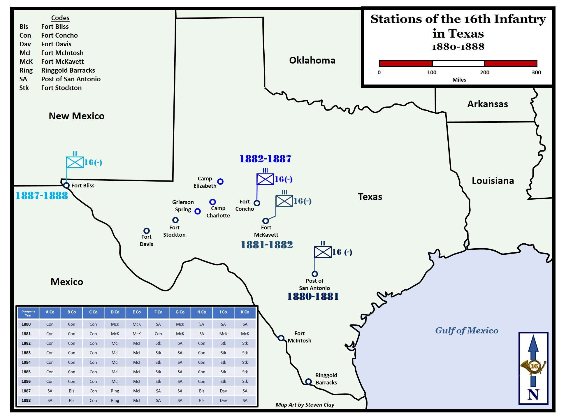 Stations of the 16th Infantry in Texas 1880-1888 – 16th ... on 1880 colorado map, 1880 new york map, 1880 missouri map, 1880 ohio map, 1880 wisconsin map, 1880 kansas map, 1880 mexico map, 1880 arizona map, 1880 michigan map, 1880 kentucky map, 1880 europe map, 1880 texas map, 1880 nebraska map, 1880 dallas map, 1880 oklahoma map, 1880 idaho map, 1880 south dakota map, 1880 denver map, 1880 louisiana map, 1880 world map,